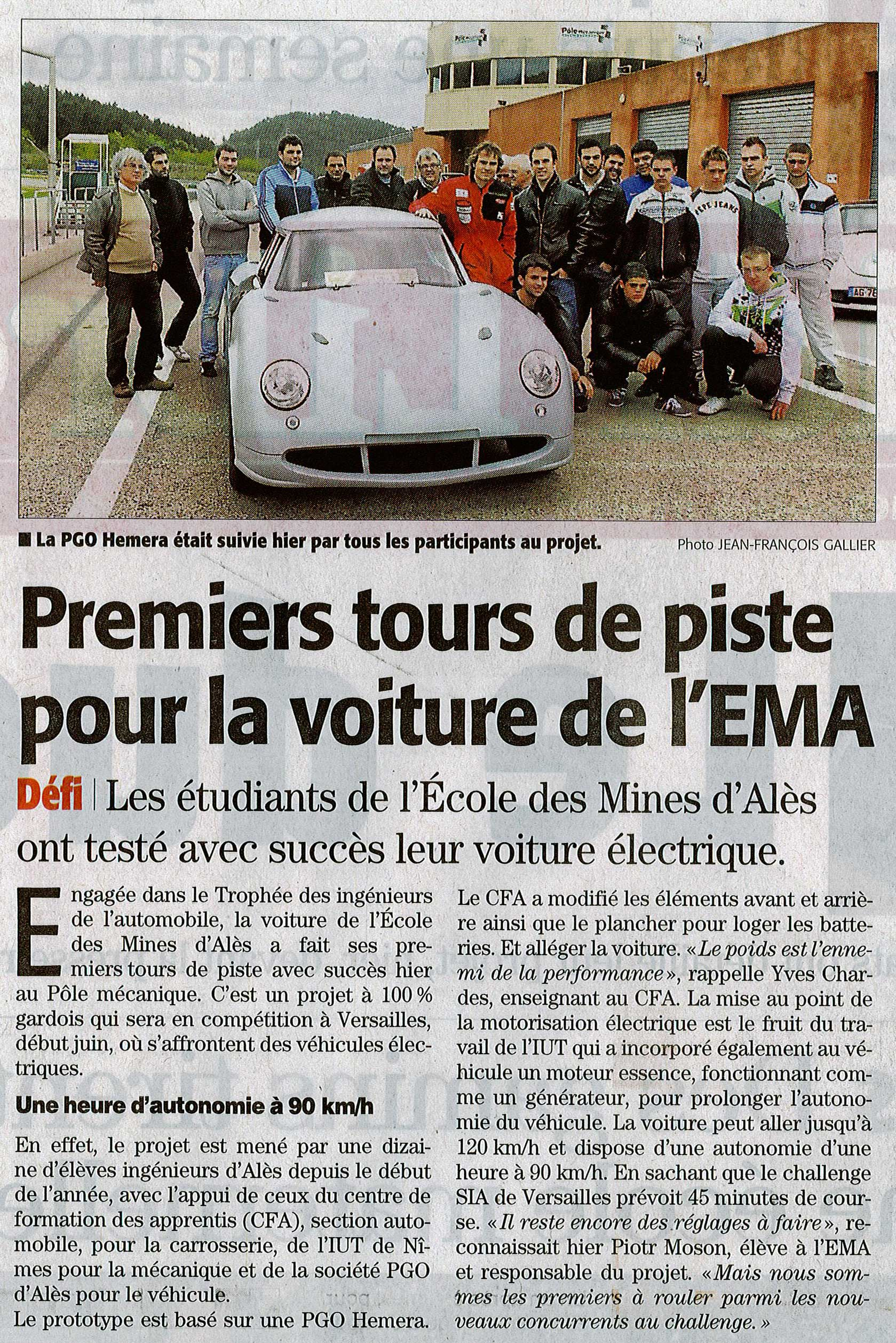 Dernier article presse